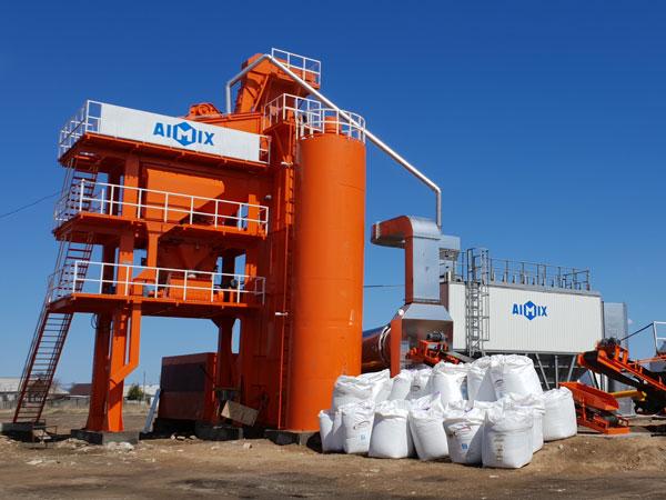 Pabrik batch aspal ALQ80