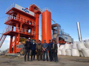 Pabrik campuran aspal ALQ80