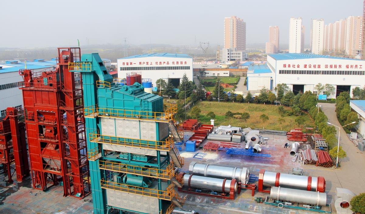 Pabrik Aspal Aimix di Pabrik