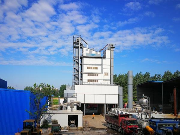 Pabrik pencampuran aspal stasioner seri LB