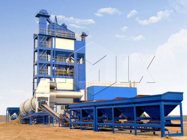 QLB-60 stationary asphalt mixing plant for sale