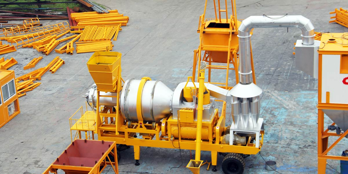 QLB seri batch pabrik aspal