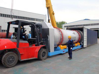 pengiriman pabrik aspal ke Indonesia