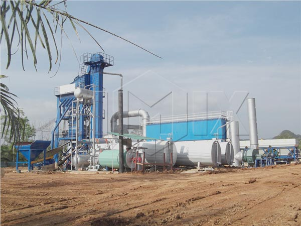 Bitumen batching plant