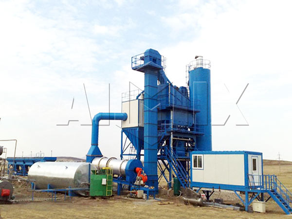 QLB175 batch type asphalt plant