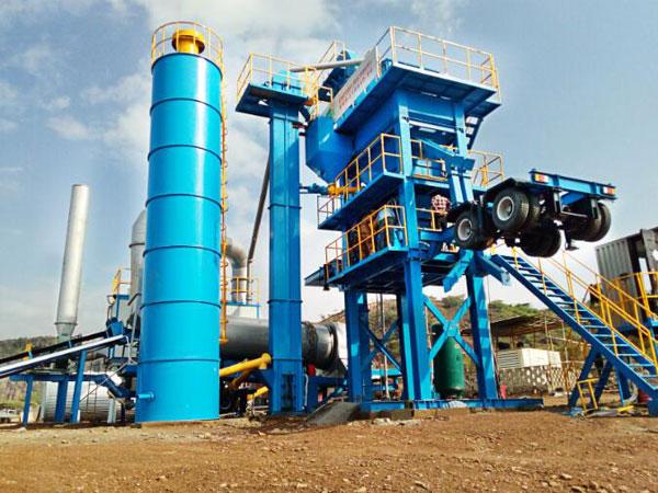 ALYQ80 nhà máy trộn nóng di động