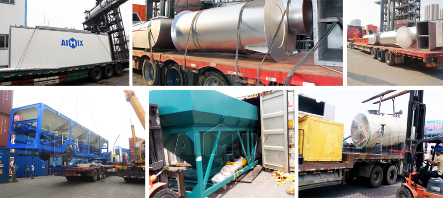 Aimix Asphalt Plant Supplier Was Exporting Equipment To Various Countries