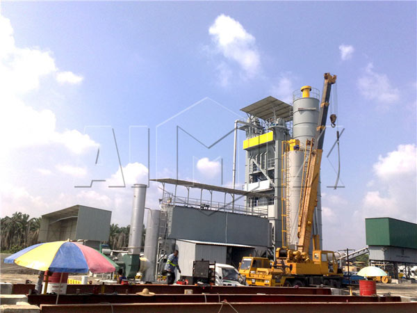 Asphalt Hot Plant in Sri Lanka