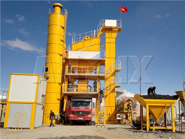 175t/h asphalt mixing plant