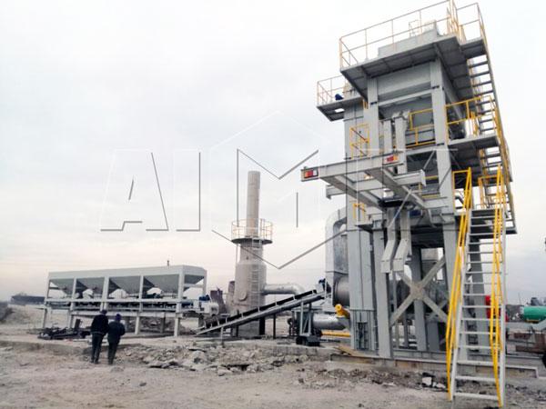 Asphalt Plant in Tajikistan