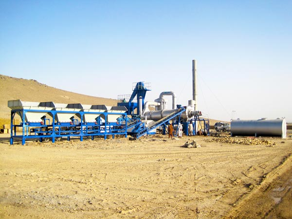 DHB series drum mix plant