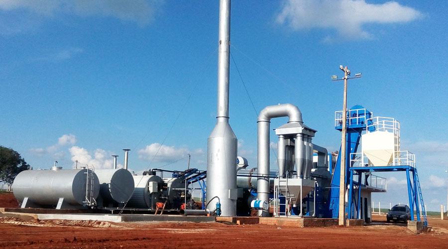 Drum Asphalt Plant In Paraguay