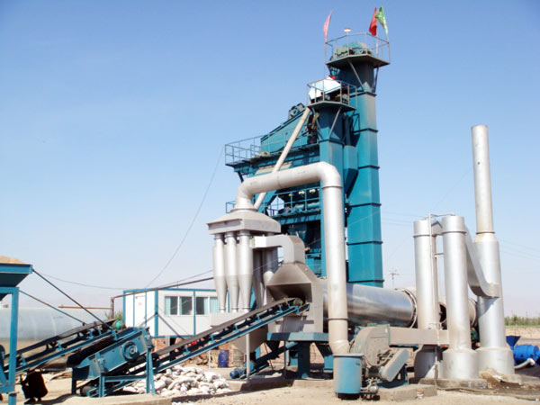 LB1000 stationary asphalt plant