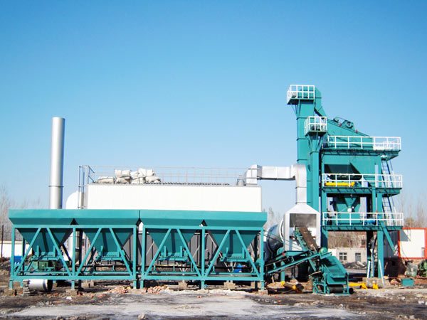 ALQ120 stationary asphalt plant