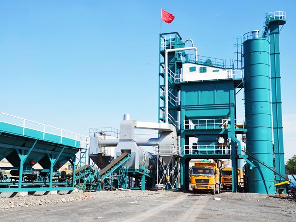 ALQ240 stationary asphalt batch mix plant