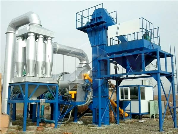 Lifting System of Hot Mix Plant
