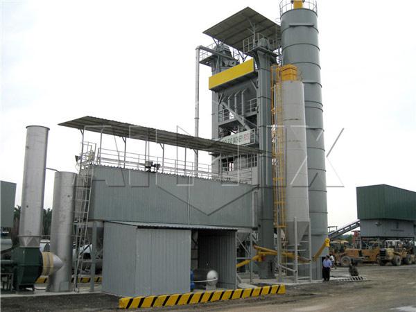 QLB 200t Large Aspahlt Mix Plant