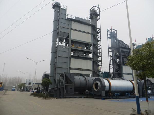 QLB 320t Stationary Asphalt Mix Plant