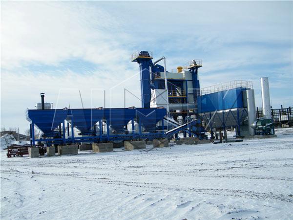 QLB series 240t asphalt plant