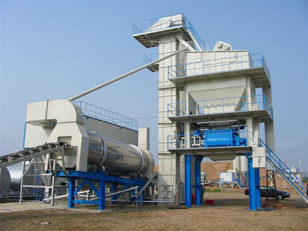 QLBY series 80t asphalt plant