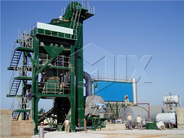 QLBY series 30/t Asphalt Mix Plant