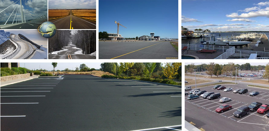 asphalt plants applied to various fields