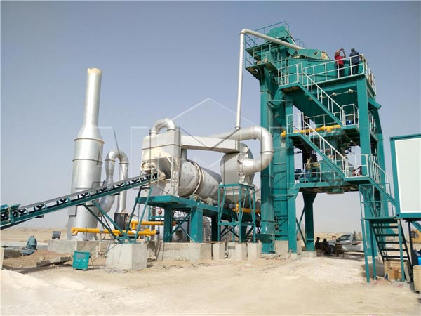 120t Stationary Asphalt Mix Plant