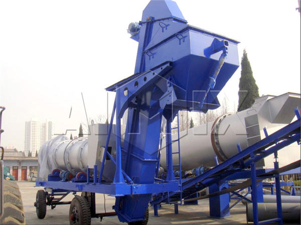 40 t/h drum mix asphalt plant