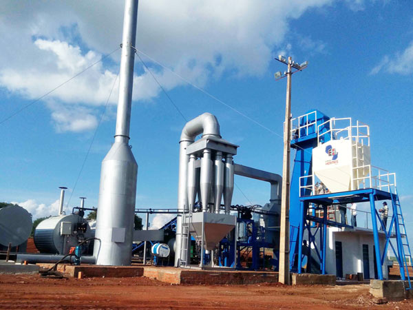 Asphalt Plant in Brazil
