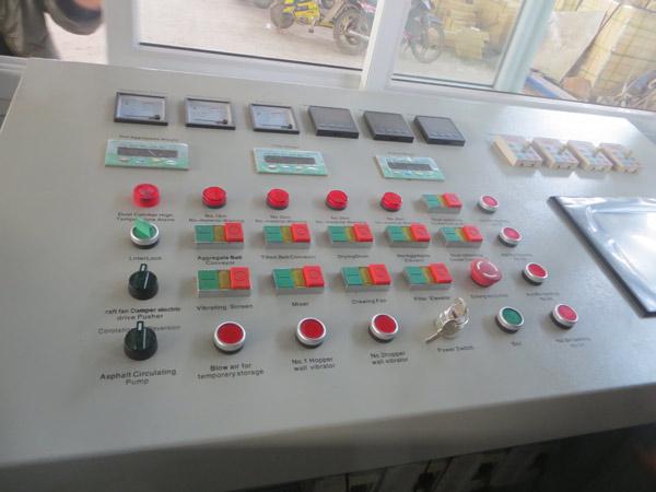 Bitumen PLC electric control systetm