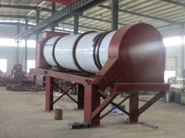 Bitumen plant dryer drum