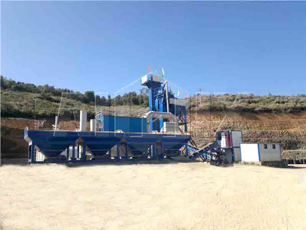 20 t/h drum continuous mobile plant