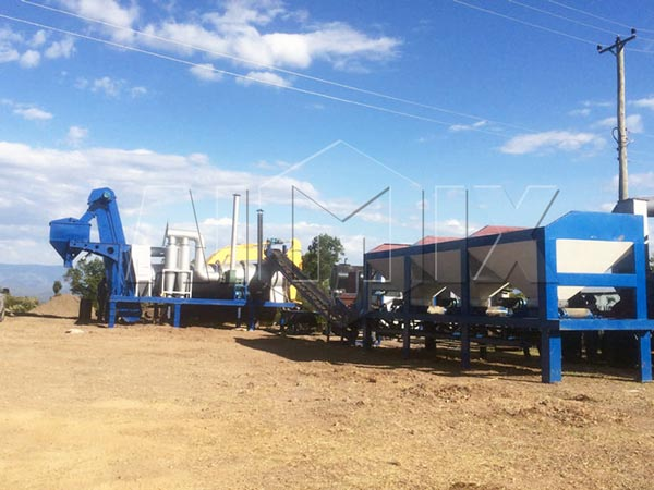 DHB40 series drum asphalt plant