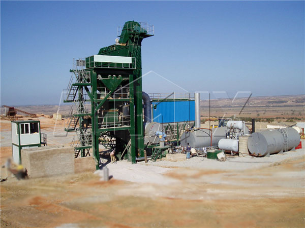 Forced Mixing Asphalt Plant
