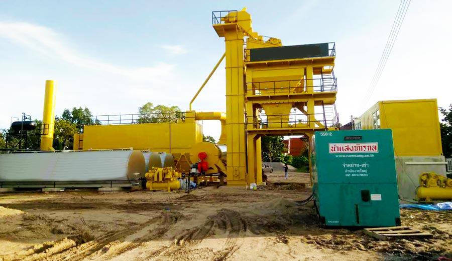 ALQ80 Asphalt Plant in Thailand
