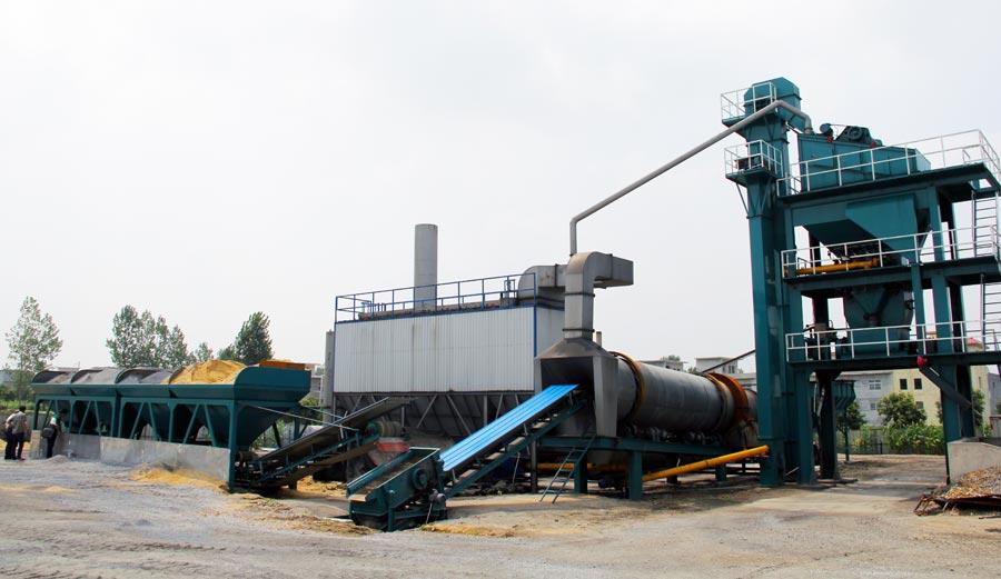 ALQ120 Stationary Asphalt Plant in Singapore