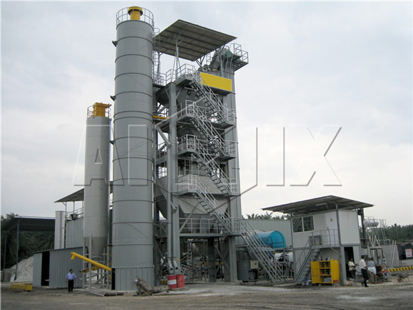 Large Asphalt Mix Plant