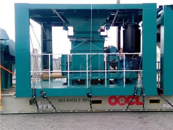 Mini Asphalt Plant : Small portable asphalt mixing plant for sale t h