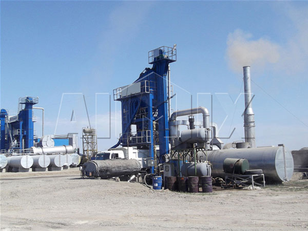 Mobile Asphalt Mix Plant