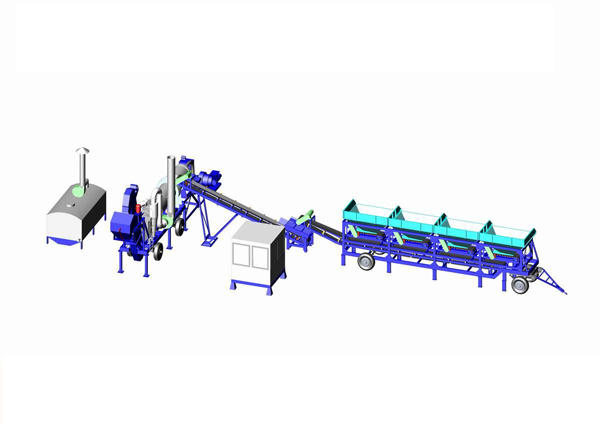 Operating of drum mix asphalt plant