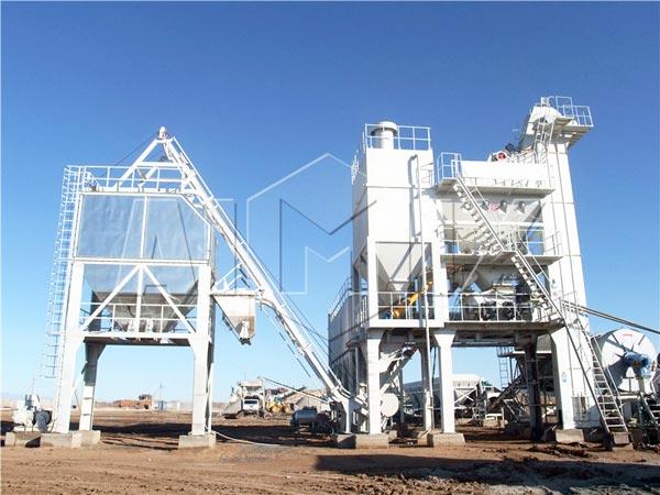 QLB-175 stationary asphalt batch plant for sale