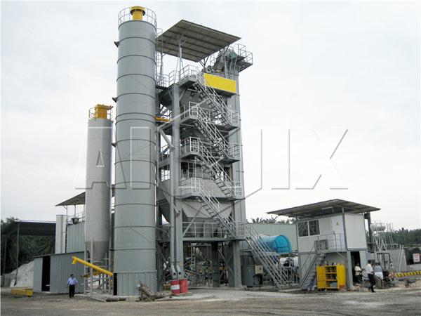 QLB-200 stationary asphalt batch mix plant for sale