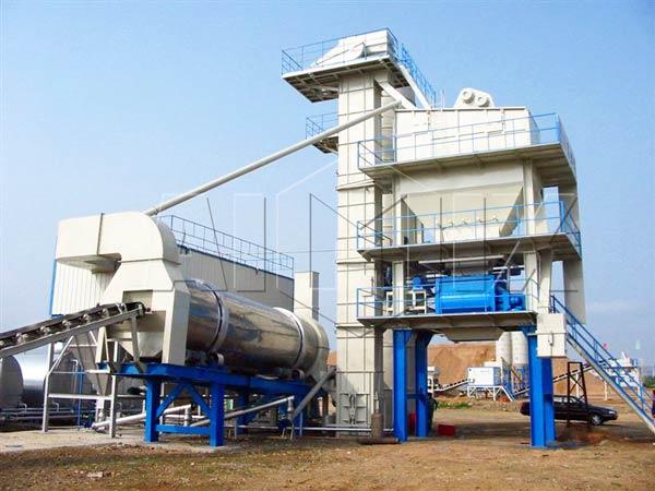 240t/h asphalt concrete plant