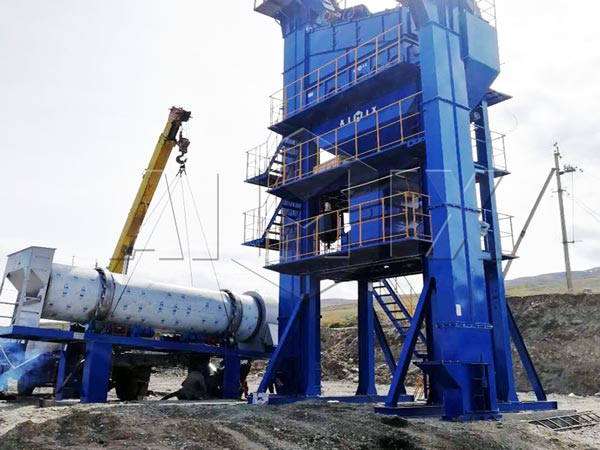 QLB90 stationary asphalt mixing plant