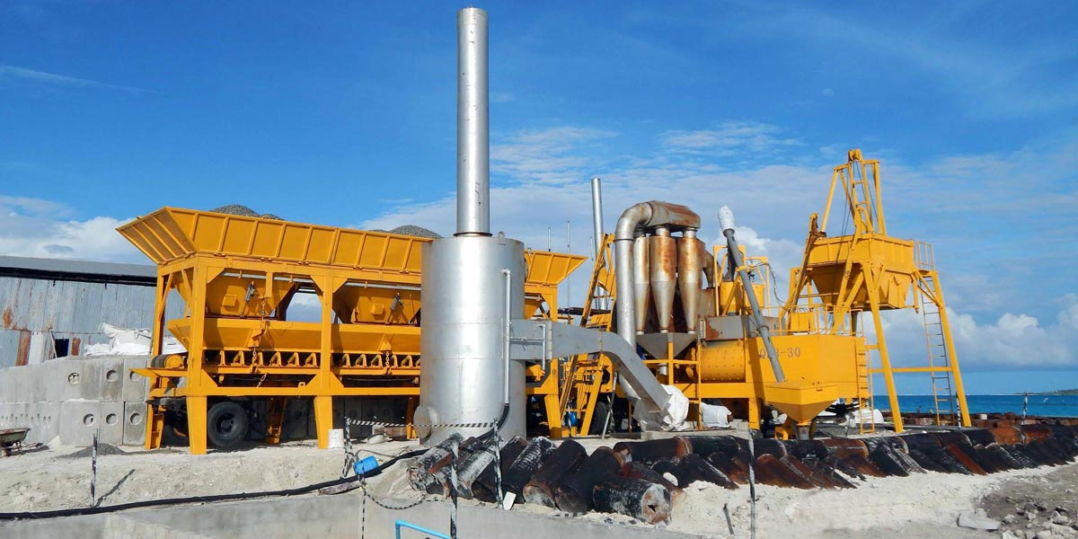 ALYJ series asphalt plant