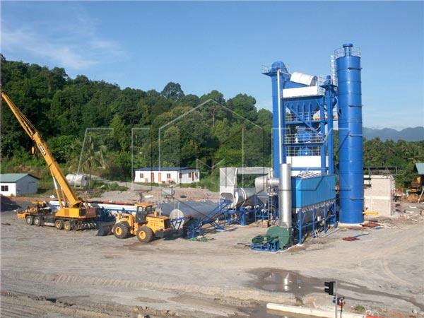 Mini Asphalt Plant : Stationary asphalt mixing plant optimal equipment for