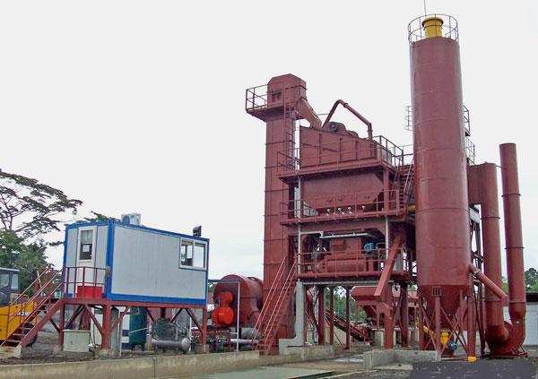 Stationary Mix Asphalt Plant