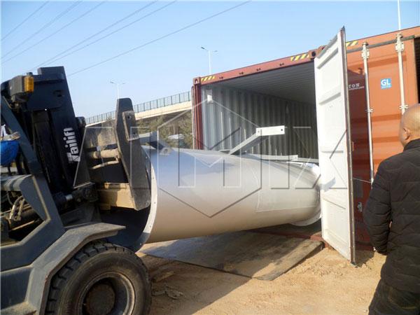 Stationary Plant Exported to Algeria