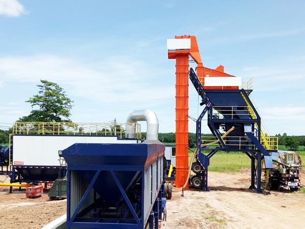 ALYQ series mobile asphalt batching plant