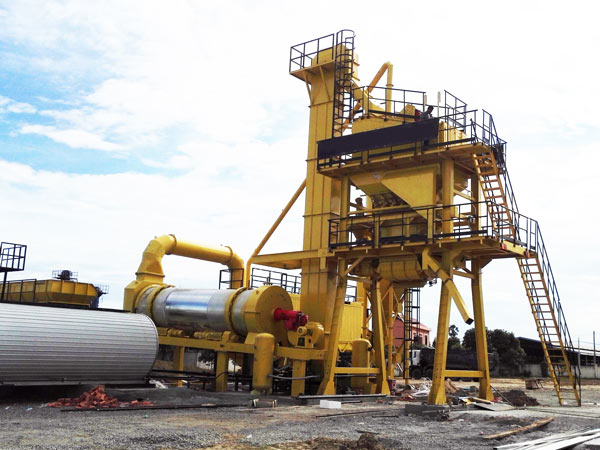 ALYQ80 mobile hot mix plant